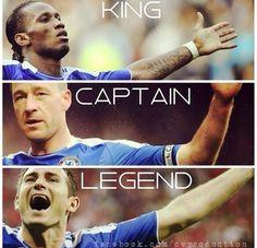 King. Captain. Legend...