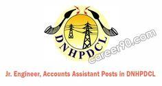 Jr. Engineer, Accounts Assistant Posts in DNHPDCL.#latestjovtjobs #allgovtjobs