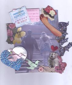 First Date - Rookie Collages, Rookie Magazine, Photocollage, Tumblr, Journal Inspiration, Wall Collage, Kitsch, Stickers, Art Inspo