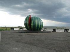 Памятник арбузу, Абакан