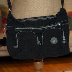 """Kipling+bag+""""Neworder""""+black+Medium+Shoulder+Bag"""