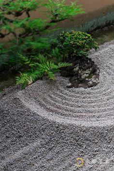 一滴の波紋がみせる海の広さ 【龍源院】Ryogen-in, a sub-temple of Daitoku-ji Kyoto,Japan