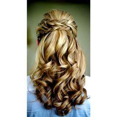 Homecoming Hairstyles, Long Hairstyles, Pretty Hairstyles, Braided Hairstyles, Wedding Hairstyles, Hairstyle Ideas, Bridesmaids Hairstyles, Bridal Hairstyle, Elegant Hairstyles