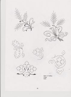 Embroidery Pattern #74 Image Only. Unable to find original source. jwt