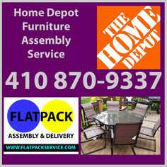 Home Services at The Home Depot Bowie | Bowie, MD 20716 • 301 971-7219 • Bowie #2562 4121 Crain Hwy Bowie, MD 20716 - Home Depot • Flatpack Assembly • • 410 870-9337 • Home Services in Bowie, MD - The Home Depot RST Brands Deco 9-Piece Patio Dining Set Model #OP-PETS9-DEC-SLT-K Home Depot Bowie | Hardware Store & More in Bowie • FACEBOOK • • POSTS • Flatpack Assembly & Delivery • GOOGLE • Bowie, MD Furniture Assembly DC | Flatpack Assembly Service • 410 870-9337 • Home Depot Upper Marlboro… Lowes Patio Furniture, Furniture Assembly, Cool Furniture, Patio Dining, Dining Set, Ikea Delivery, Rockville Maryland, Upper Marlboro