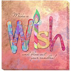 Connie Haley 'Wish' Canvas Giclee Art
