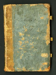 Fishing without a Net: The Journals of Constantine Samuel Rafinesque  http://nmnh.typepad.com/fieldbooks/2012/04/fishing-without-a-net.html