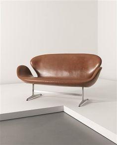 PHILLIPS : UK050112, ARNE JACOBSEN, 'Swan' sofa, model no. 3321