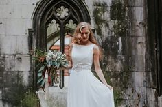 Image by Jessica Williams Photography - Justin Alexander Wedding Dress | The Happenstance Bar London | Winter…