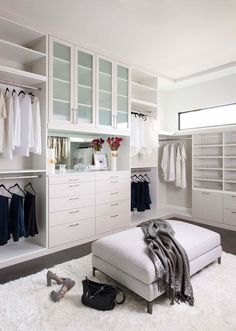 Robin Colton Interior Design Studio Horseshoe Bay Master Bedroom Walk-In Closet