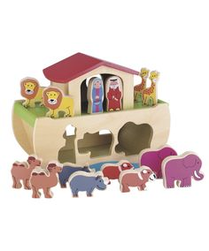 Wooden Noah's Ark : Wooden Noah's Ark : Early Learning Centre UK Toy Shop