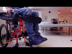 Shirley Ryan AbilityLab Manual Sitting/Standing Wheelchair: Patient Overview - YouTube