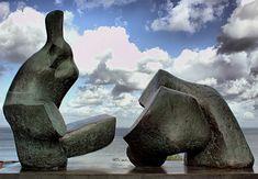 Henry Moore sculpture – Louisiana Museum of Modern Art, Denmark