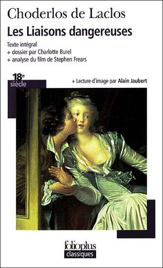Les Liaisons dangereuses. - Choderlos de Laclos I also read this for Liberte et Libertins. Honestly I haven't finished it yet as of now, but it is my goal to complete this book this year! It's intelligently written and just simply fascinating.