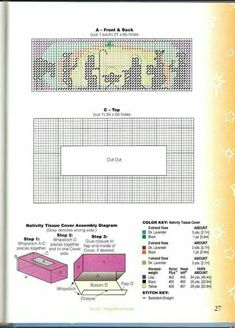 Plastic Canvas Coasters, Plastic Canvas Tissue Boxes, Plastic Canvas Crafts, Plastic Canvas Patterns, Plastic Craft, Tissue Box Holder, Tissue Box Covers, Diy Projects To Try, Crafts To Make