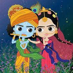 10 best radha krishna cartoons images in 2020 cute krishna radha krishna images radha krishna art pinterest
