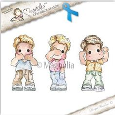 The Rubber Buggy  - Magnolia Stamps - Blue Ribbon Edwin - Hear No, See No, Speak No - Set of Three, $29.99 (http://www.therubberbuggy.com/magnolia-stamps-blue-ribbon-edwin-hear-no-see-no-speak-no-set-of-three/)