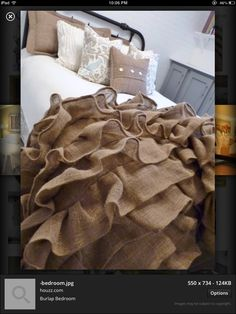 burlap crafts - Bing Images