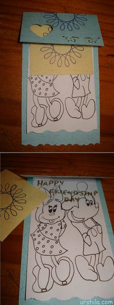 Diy Greeting Card From Patterned Paper Stars Templates And