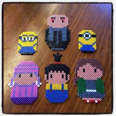 Despicable Me hama beads by dorro85