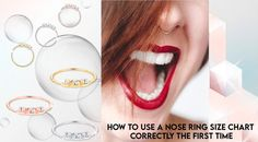 How To Use A Nose Ring Size Chart to correctly measure your nose ring size. Tips for getting the perfect fit and gauge size with your nose ring. #silver #jewelry #925 #nosering #nosepiercing #piercings #makeup #selfie #girlswithpiercings #earrings #piercing #nath #jewelry #septum #instagram #fashion #noserings #nosepin #smile #pierced instagood Nose Ring Sizes, Wholesale Silver Jewelry, Being Used, First Time, Perfect Fit, Piercings, Jewelry Design, Lipstick, Instagram Fashion