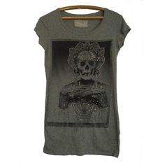 {All Saints} Camiseta Caveira