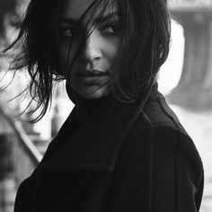 """4alarmfirecracker: """"Floriana Lima … Beautiful as always  """" #say it with me #noir au (via @racethewind10 ) Maggie the disgraced former detective now working as a PI after she was thrown off the force for getting caught kissing the Chief's..."""
