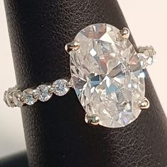 28 Best Moissanite Engagement Rings images in 2017
