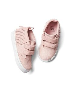 8a95b7e39bcc Moccasin fringe sneakers (Gap) Toddler Sneakers Girl