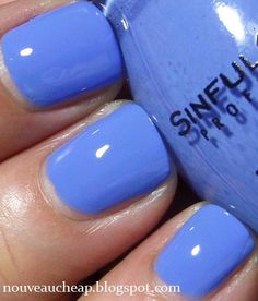Sinful Colors' Blue La La. Oh, and as this link points out: ALL Sinful Colors will be on sale for $0.99 starting this Sunday, June 1st (2014) at Walgreens!