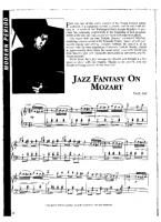 Fazil Say - Turkish March Jazz - Free Downloadable Sheet Music