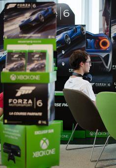 Journée de lancement du jeu-vidéo Forza Motorsport 6 organisé par Microsoft #VideoGame #Microsoft #Forza6 #PressPremiere