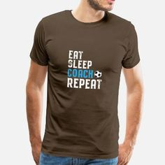 f13c3a600b7a7 Entrenador de entrenador de fútbol de regalo - Camiseta premium hombre