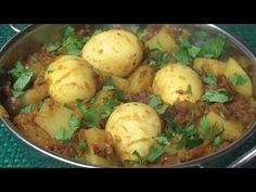 This delicious Bengali-style curry is as simple as it is tasty. (From: Titli Nihaan) Recipe at http://titlisbusykitchen.com/archives/spicy-egg-potato-curry-dimer-dalna