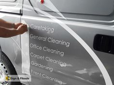 Vinyl Signwriting - Sign And Fitouts Signwriting, Logo Sign, Vinyl Signs, Professional Logo, How To Clean Carpet, Spelling, Boats, Surface, Smooth