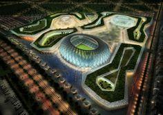 Al-Wakrah Stadium, 2022 FIFA World Cup, Doha, Qatar