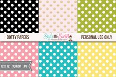 Dotty Digital Papers – FREE Download