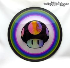 NEW MVP Proton Tesla 175g Nintendo Mushroom 1up dye disc golf driver Axiom clear #MVP