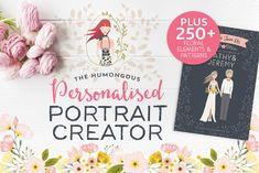 Personalised Portrait Creator - This Design Pack is so amazing!!!