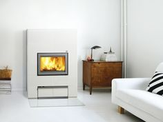 Moderní krbová kamna - TULIKIVI Stove, Home Appliances, Architecture, Wood, Closets, Design, Home Decor, House Appliances, Arquitetura