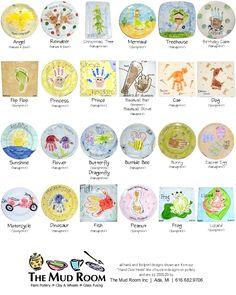 hand print ideas- so many cute ideas