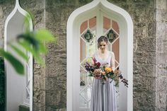 The Lakeland Artisan Bride, an Autumnal and calligraphy inspired photoshoot for the free spirited bride. Calligraphy by Moon & Tide. Images captured by Vickerstaff Photography.