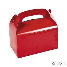 Treat Boxes - Red - OrientalTrading.com