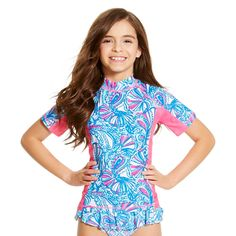 Lilly Pulitzer for Target Girls' Rashguard - My Fans