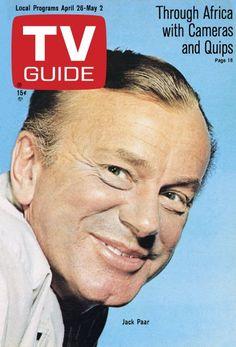 TV Guide: April 26, 1969 - Jack Paar