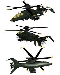 OAH-82A Black Mamba WIP 9 by Venom800TT.deviantart.com on @DeviantArt