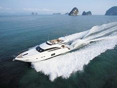Princess 64 Yacht Charter, 4+1 cabins, 8+2 berths. Available for charter in Thailand.