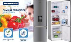 Promotie Combina frigorifica Heinner HC-H273XWDF+cu 33% Reducere de Pret
