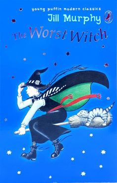 Like New! The Worst Witch by Jill Murphy Puffin children& illustrated paperback Jill Murphy, Spooky Stories, The Worst Witch, Chapter Books, Modern Classic, Fiction, Children, Illustration, Ebay