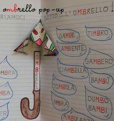 Italian Grammar, Italian Language, Class Decoration, Learning Italian, Home Schooling, Interactive Notebooks, Educational Activities, Teaching Reading, Primary School